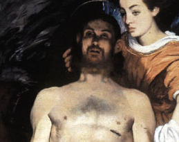 DeadChrist_Manet_detail