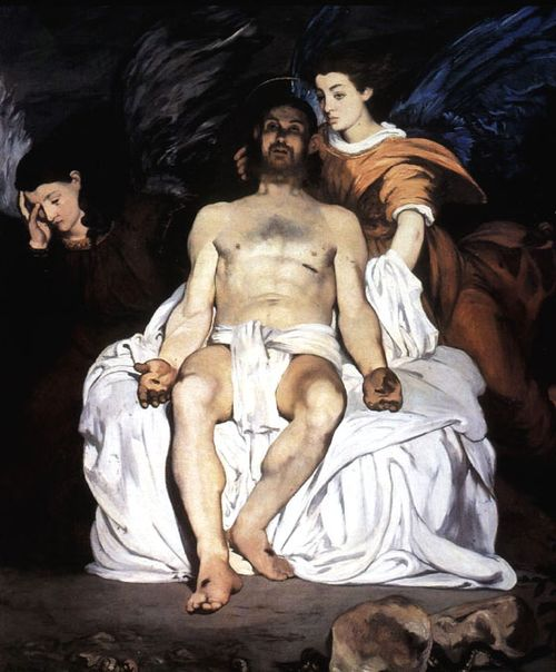 DeadChrist_Manet