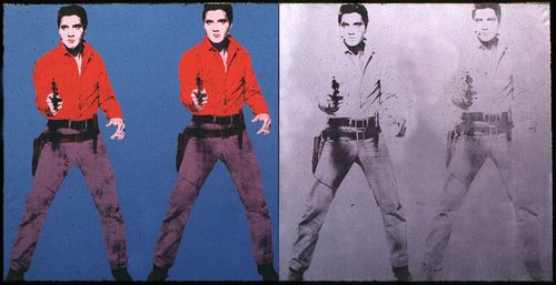 Elvis as a phantasmagoric projection of sexual uncertainty